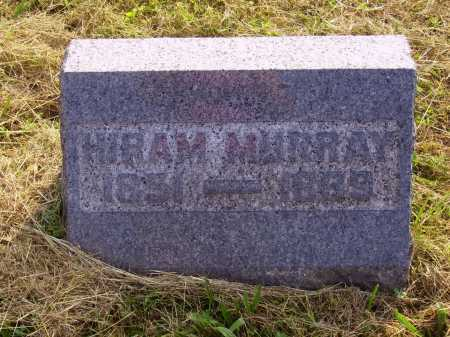MURRAY, HIRAM - Meigs County, Ohio | HIRAM MURRAY - Ohio Gravestone Photos
