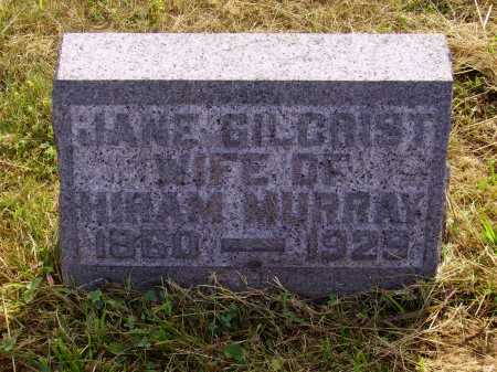 GILCRIST MURRAY, JANE - Meigs County, Ohio | JANE GILCRIST MURRAY - Ohio Gravestone Photos
