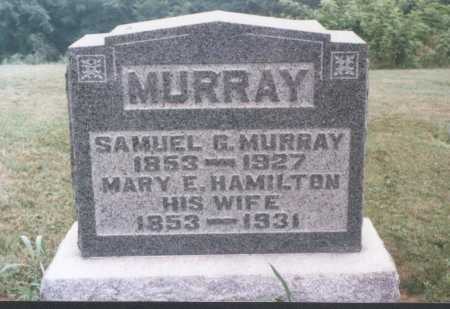 HAMILTON MURRAY, MARY E. - Meigs County, Ohio | MARY E. HAMILTON MURRAY - Ohio Gravestone Photos