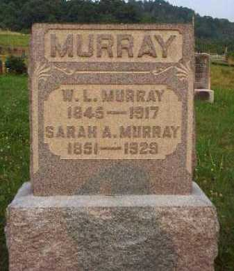 MURRAY, W. L. - Meigs County, Ohio | W. L. MURRAY - Ohio Gravestone Photos