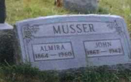 MUSSER, ALMIRA - Meigs County, Ohio | ALMIRA MUSSER - Ohio Gravestone Photos