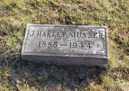 MUSSER, J. HARLEY - Meigs County, Ohio | J. HARLEY MUSSER - Ohio Gravestone Photos