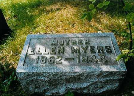 MYERS, ELLEN - Meigs County, Ohio | ELLEN MYERS - Ohio Gravestone Photos