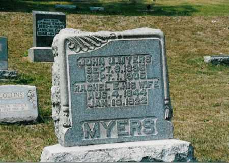 MYERS, RACHEL E. - Meigs County, Ohio | RACHEL E. MYERS - Ohio Gravestone Photos