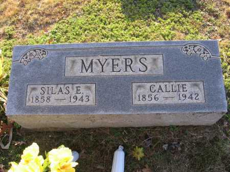 "RIDGELEY MYERS, CAROLINE L. ""CALLIE"" - Meigs County, Ohio 