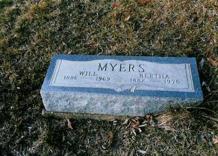 MYERS, WILL - Meigs County, Ohio | WILL MYERS - Ohio Gravestone Photos