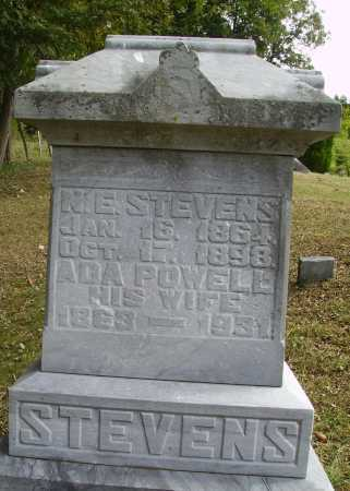 POWELL STEVENS, ADA - Meigs County, Ohio | ADA POWELL STEVENS - Ohio Gravestone Photos