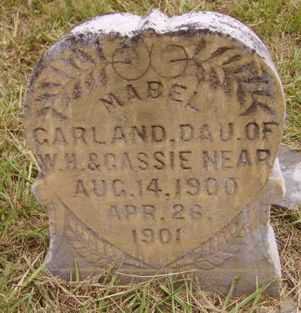NEAR, MABEL GARLAND - Meigs County, Ohio | MABEL GARLAND NEAR - Ohio Gravestone Photos