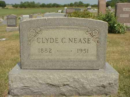 NEASE, CLYDE C. - Meigs County, Ohio | CLYDE C. NEASE - Ohio Gravestone Photos