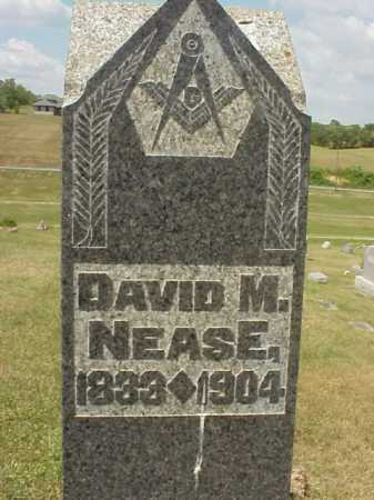NEASE, DAVID M. - Meigs County, Ohio | DAVID M. NEASE - Ohio Gravestone Photos