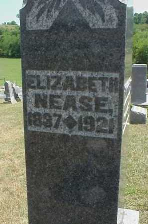 NEASE, ELIZABETH - Meigs County, Ohio | ELIZABETH NEASE - Ohio Gravestone Photos