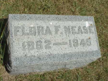 NEASE, FLORA F. - Meigs County, Ohio | FLORA F. NEASE - Ohio Gravestone Photos