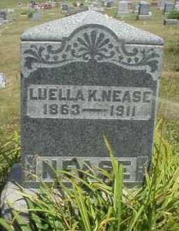 NEASE, LUELLA K. - Meigs County, Ohio | LUELLA K. NEASE - Ohio Gravestone Photos