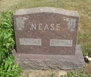 NEASE, MARINDA I. - Meigs County, Ohio | MARINDA I. NEASE - Ohio Gravestone Photos