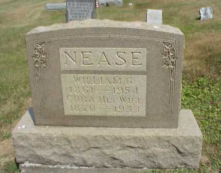 NEASE, WILLIAM G. - Meigs County, Ohio | WILLIAM G. NEASE - Ohio Gravestone Photos