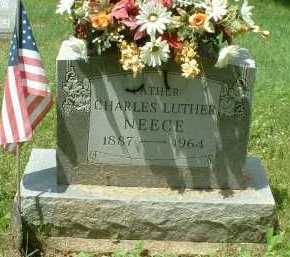 NEECE, CHARLES LUTHER - Meigs County, Ohio | CHARLES LUTHER NEECE - Ohio Gravestone Photos