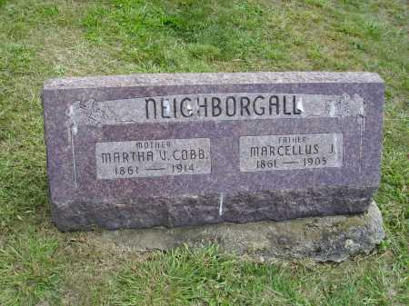 NEIGHBORGALL, MARTHA V. - Meigs County, Ohio | MARTHA V. NEIGHBORGALL - Ohio Gravestone Photos