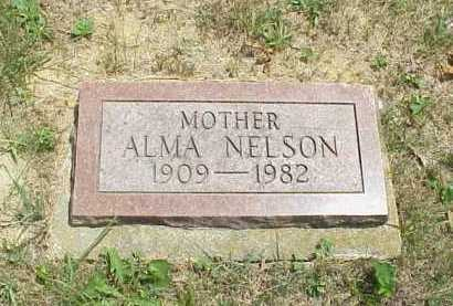 NELSON, ALMA - Meigs County, Ohio | ALMA NELSON - Ohio Gravestone Photos