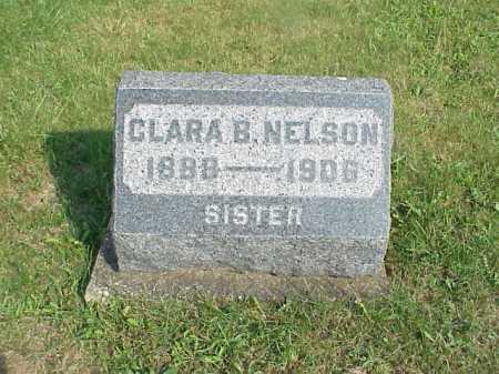 NELSON, CLARA B. - Meigs County, Ohio | CLARA B. NELSON - Ohio Gravestone Photos