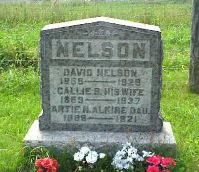 "SAXTON NELSON, CAROLYN ""CALLIE"" - Meigs County, Ohio 