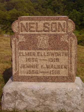 NELSON, JENNIE K. - Meigs County, Ohio | JENNIE K. NELSON - Ohio Gravestone Photos