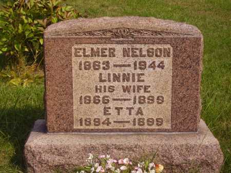 HOYT NELSON, LENA [LINNIE] - Meigs County, Ohio | LENA [LINNIE] HOYT NELSON - Ohio Gravestone Photos