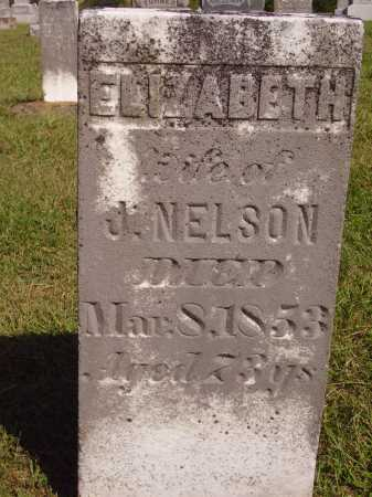 KIRBY NELSON, ELIZABETH - Meigs County, Ohio | ELIZABETH KIRBY NELSON - Ohio Gravestone Photos