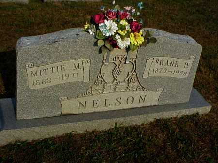 NELSON, MITTIE M. - Meigs County, Ohio | MITTIE M. NELSON - Ohio Gravestone Photos