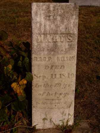 NELSON, MARY S. - Meigs County, Ohio | MARY S. NELSON - Ohio Gravestone Photos
