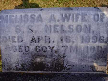 RICHARDS NELSON, MELISSA A. - Meigs County, Ohio | MELISSA A. RICHARDS NELSON - Ohio Gravestone Photos