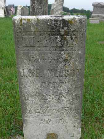 NELSON, MARY - Meigs County, Ohio | MARY NELSON - Ohio Gravestone Photos