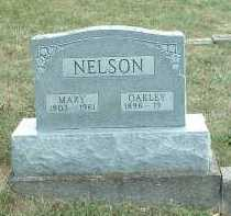 NELSON, OAKLEY - Meigs County, Ohio | OAKLEY NELSON - Ohio Gravestone Photos