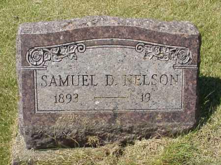 NELSON, SAMUEL D. - Meigs County, Ohio | SAMUEL D. NELSON - Ohio Gravestone Photos