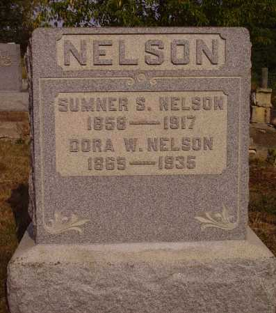 WEBB NELSON, DORA - Meigs County, Ohio | DORA WEBB NELSON - Ohio Gravestone Photos