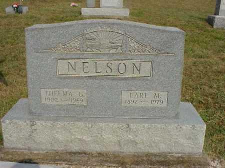 NELSON, EARL M. - Meigs County, Ohio | EARL M. NELSON - Ohio Gravestone Photos