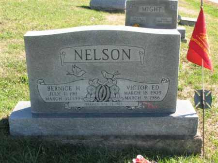 NELSON, VICTOR ED. - Meigs County, Ohio | VICTOR ED. NELSON - Ohio Gravestone Photos