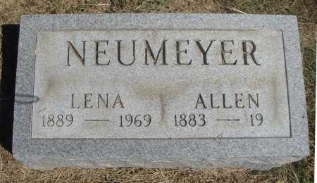 NEUMEYER, ALLEN - Meigs County, Ohio | ALLEN NEUMEYER - Ohio Gravestone Photos