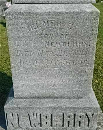 NEWBERRY, ELMER E. - Meigs County, Ohio | ELMER E. NEWBERRY - Ohio Gravestone Photos