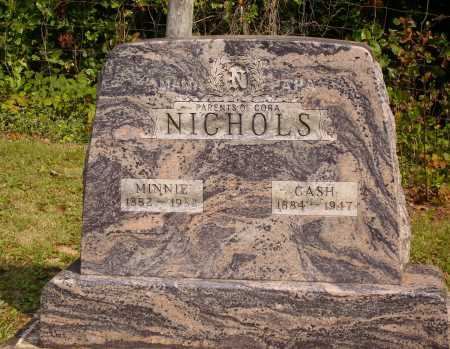 NICHOLS, CASH - Meigs County, Ohio | CASH NICHOLS - Ohio Gravestone Photos