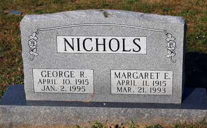 NICHOLS, MARGARET E. - Meigs County, Ohio | MARGARET E. NICHOLS - Ohio Gravestone Photos