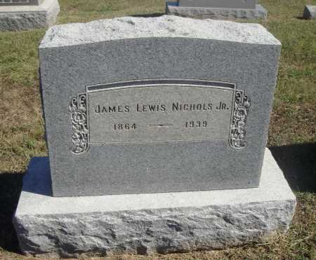 NICHOLS, JAMES LEWIS, JR. - Meigs County, Ohio | JAMES LEWIS, JR. NICHOLS - Ohio Gravestone Photos