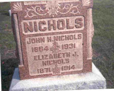 NICHOLS, JOHN H. - Meigs County, Ohio | JOHN H. NICHOLS - Ohio Gravestone Photos