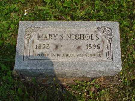 NICHOLS, MARY S. - Meigs County, Ohio | MARY S. NICHOLS - Ohio Gravestone Photos
