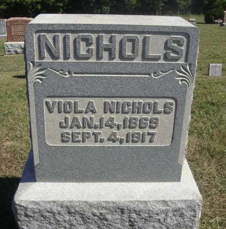 NICHOLS, VIOLA - Meigs County, Ohio | VIOLA NICHOLS - Ohio Gravestone Photos