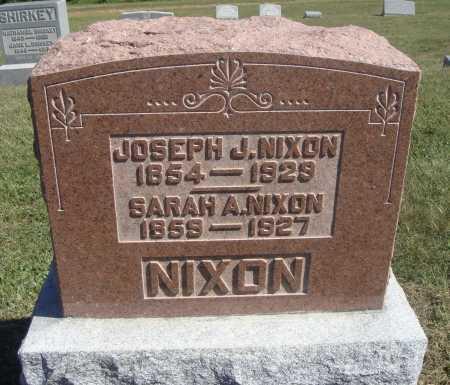 NIXON, JOSEPH J. - Meigs County, Ohio | JOSEPH J. NIXON - Ohio Gravestone Photos