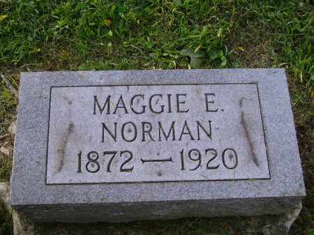 NORMAN, MAGGIE - Meigs County, Ohio | MAGGIE NORMAN - Ohio Gravestone Photos
