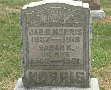 NORRIS, JAS. E. - Meigs County, Ohio | JAS. E. NORRIS - Ohio Gravestone Photos