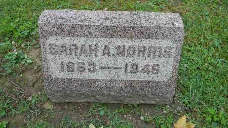 NORRIS, SARAH A. - Meigs County, Ohio | SARAH A. NORRIS - Ohio Gravestone Photos