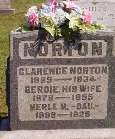 NORTON, CLARENCE - Meigs County, Ohio | CLARENCE NORTON - Ohio Gravestone Photos