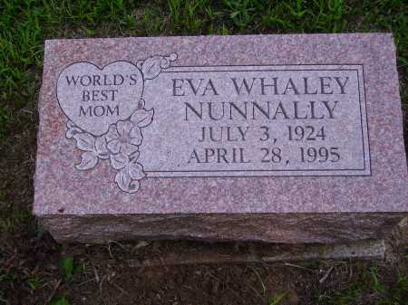 WHALEY NUNNALLY, EVA - Meigs County, Ohio | EVA WHALEY NUNNALLY - Ohio Gravestone Photos